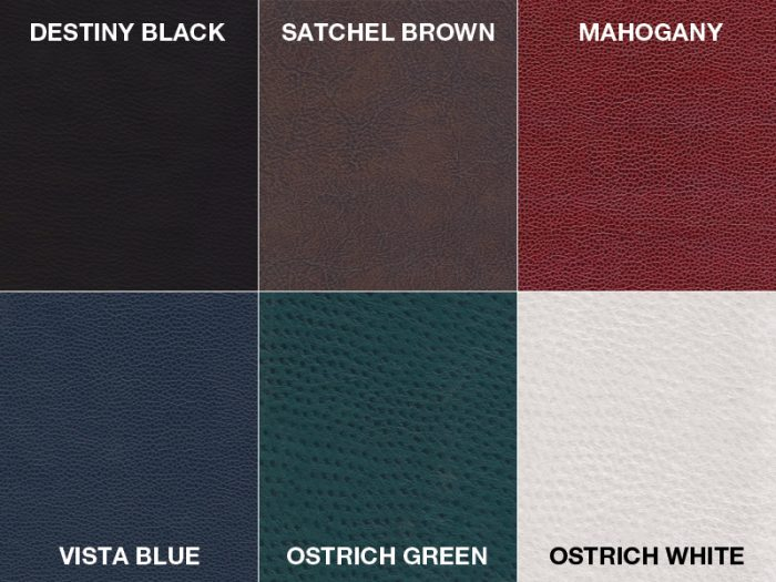 Premium Leatherette Colors