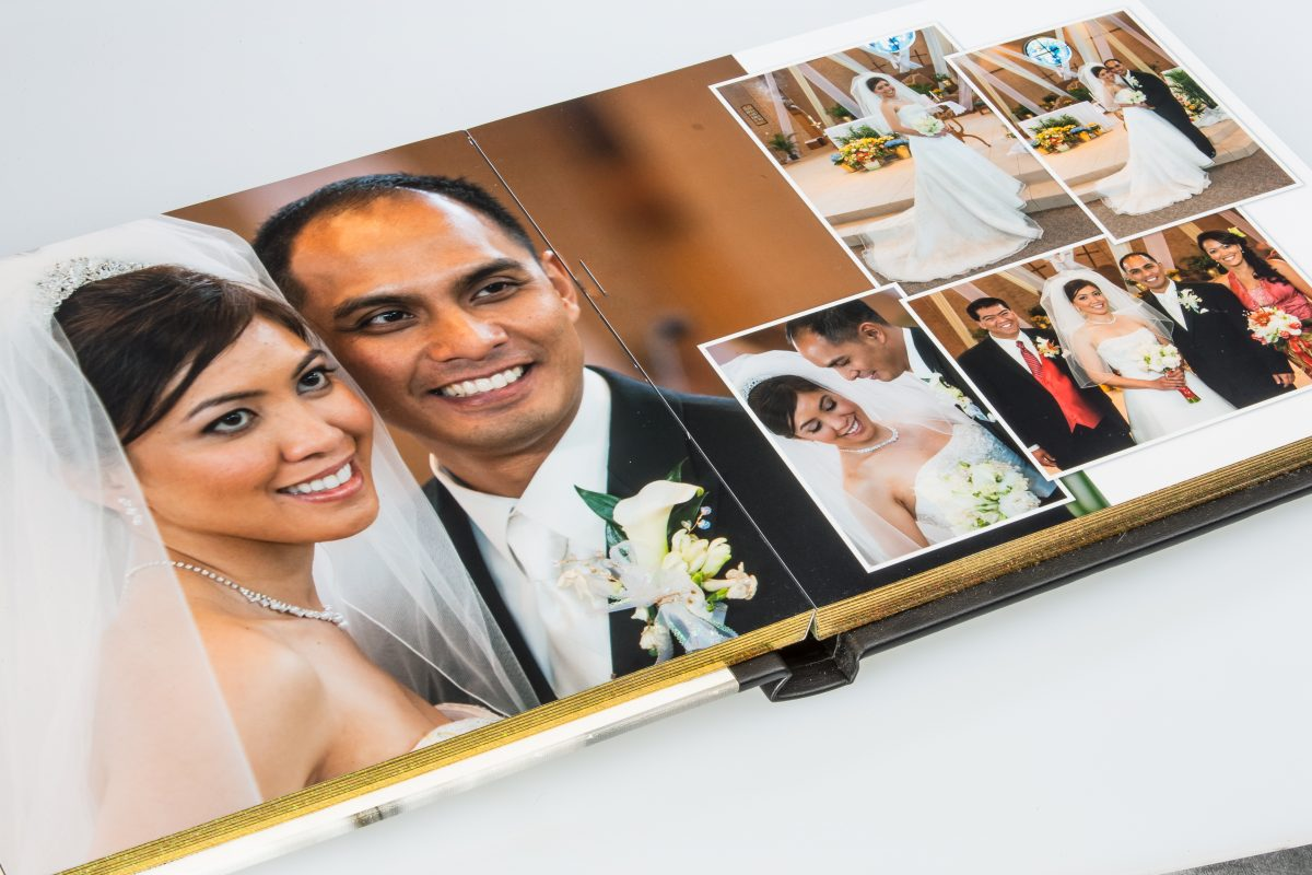 Custom Wedding Photo Album